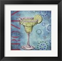 Calypso Cocktails II Framed Print