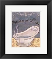 Parisian Bath II - mini Framed Print