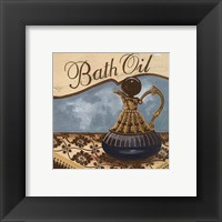 Bath Accessories II - petite Framed Print