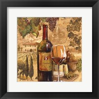 Tuscan Harvest - mini Framed Print