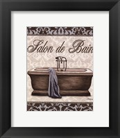 Modern Tub - Mini Framed Print