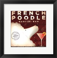 Framed French Poodle