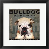 Bulldog Brewing Framed Print