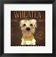 Framed Wheaten Dark Roast