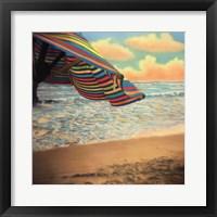 Drift Away Framed Print