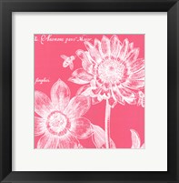 Summer Bees I Framed Print