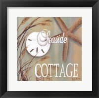 Framed Seaside Cottage