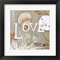 Framed Love the Sea