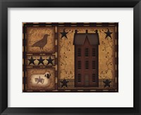Primitive Shadowbox Framed Print