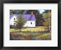 Framed Wild Meadow Farm