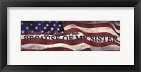 Military Sister Framed Print