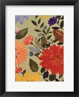 Framed Sage Garden II