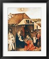 Framed Nativity