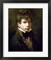 Framed Portrait of the Young Ingres