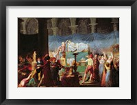Framed Funeral of Marat in the Ancient Church of Cordeliers, 16th July 1793