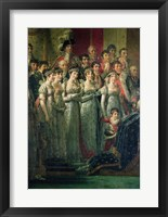 Framed Consecration of the Emperor Napoleon