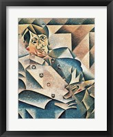 Framed Portrait of Pablo Picasso