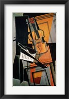 Framed Violin, 1916