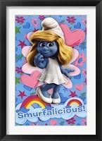 Framed Smurfs - Smurfalicious