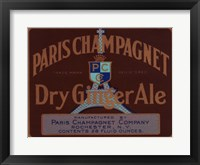 Framed Paris Champagnet