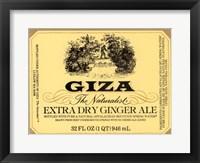 Framed Giza Ginger Ale