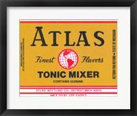 Framed Atlas Tonic Mixer