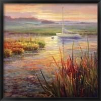 Framed Sunset Marsh
