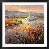 Framed Sunset Marsh