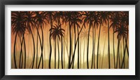 Framed Palm Paradise
