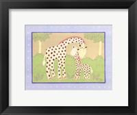 Framed Giraffes