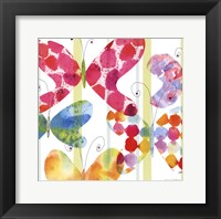 Framed Butterfly Square I