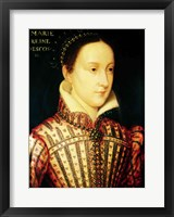 Framed Miniature of Mary Queen of Scots, c.1560