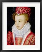 Framed Marguerite de Valois