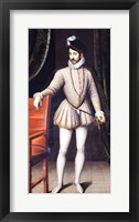 Framed Charles IX King of France