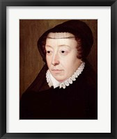 Framed Portrait of Catherine de Medici