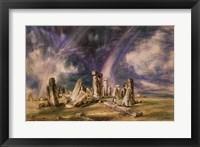 Framed Stonehenge, 1835