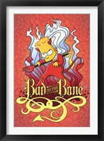 Framed Simpsons - Bad to the Bone
