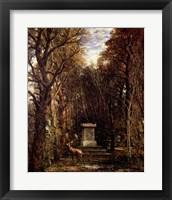 Framed Cenotaph to Reynold's Memory, Coleorton, c.1833