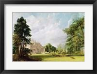 Framed Malvern Hall, Warwickshire, 1821
