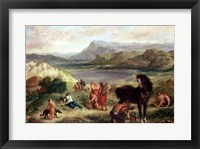 Framed Ovid among the Scythians, 1859