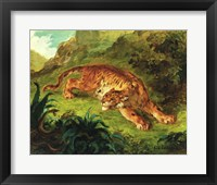 Framed Tiger and Snake, 1858