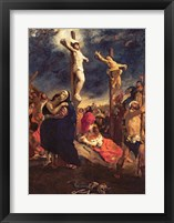 Framed Christ on the Cross, 1835