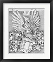 Framed Coat of Arms of the Durer Family