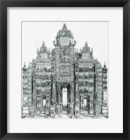 Framed Triumphal Arch of Emperor Maximilian I of Germany