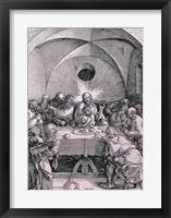 Framed Last Supper from the 'Great Passion'