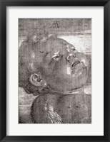 Framed Cherubim Crying, 1521