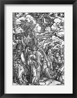 Framed Scene from the Apocalypse, The Four Angels holding the winds