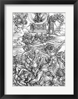 Framed Scene from the Apocalypse, The Four Vengeful Angels