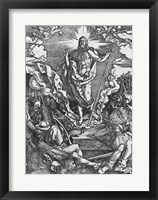Framed Resurrection, from 'The Great Passion' series, 1510