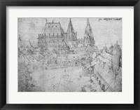 Framed Minster at Aachen, 1520